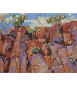 Arizona Cliffside 14x11