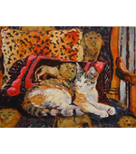 Bojangles 12x16 oil on canvas SOLD