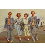 Double Date 24 x 18 oil on canvas