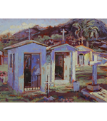 Mausoleumsin Mexico 20x16