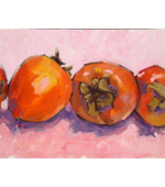 My Sister's Persimmons 14x11