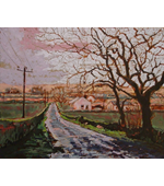 On the Road to Glasgow 20x16 **SOLD**