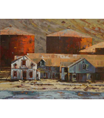 Whaling Station 20x16 ** SOLD **